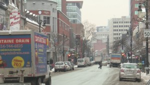 Montreal's Sainte-Catherine Street getting a facelift