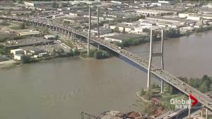 New lane coming to Alex Fraser bridge to relieve congestion