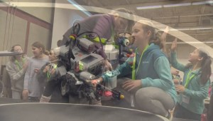 'There's camaraderie, there's collaboration': Robotics tournament turns school kids into coders, engineers