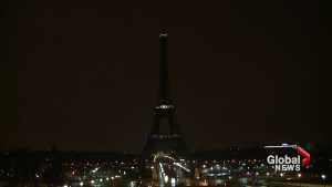 Eiffel Tower goes dark honouring victims of Quebec City mosque shooting