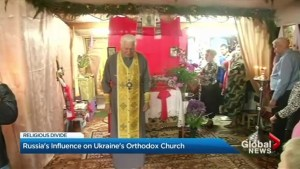 Debate growing over Russian influence on Ukraine's Orthodox Church
