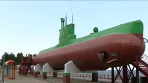Damaged North Korean submarine tells story of conflict