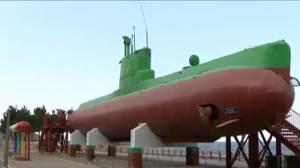 Damaged North Korean submarine tells story of conflict (01:54)