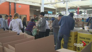 Volunteers come out for Daily Bread Food Bank's spring drive