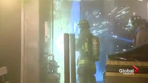 Toronto Fire crews uncover grow operation while battling east-end fire