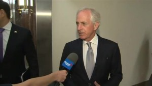 Bob Corker says U.S. tariffs on Canada have yet to be approved