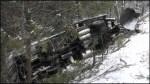 Snowplow crashes north of Port Hope