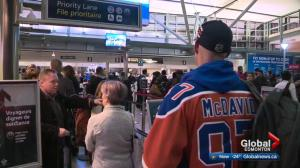 First Edmonton Oilers game in Las Vegas draws fans to Sin City