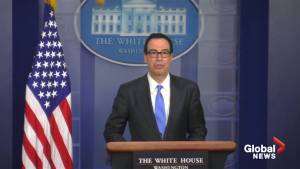 Mnuchin calls Iran sanctions 'highly effective,' will lock up billions in assets