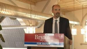 Kingston Mayor Bryan Paterson announces bid for re-election