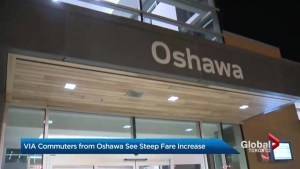 VIA price hike hits Oshawa commuters the hardest