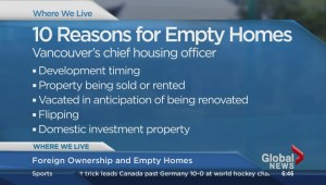 Where We Live: Foreign ownership and empty homes – Part 1