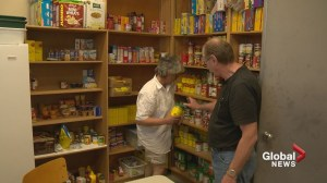 Community food banks step up as usage continues to grow