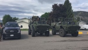 BC Flood: Military arrives in Grand Forks