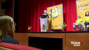 'I just feel proud of myself': Calgary elementary students take the stage at major spelling bee