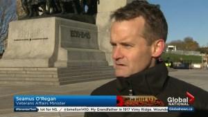 New veterans affairs minister promises compensation reform