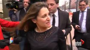 Chrystia Freeland optimistic deal can be done as she enters NAFTA talks