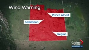 Saskatoon preparing for possible damaging winds