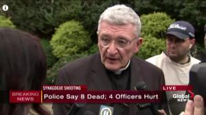 Pittsburgh bishop says how he found out about synagogue shooting