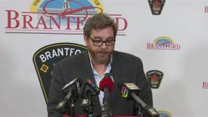 Mayor asks people to stay away from flooding areas in Brantford, Ont