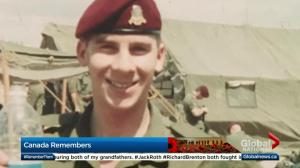 Silver Cross Mother remembers son lost in friendly fire accident