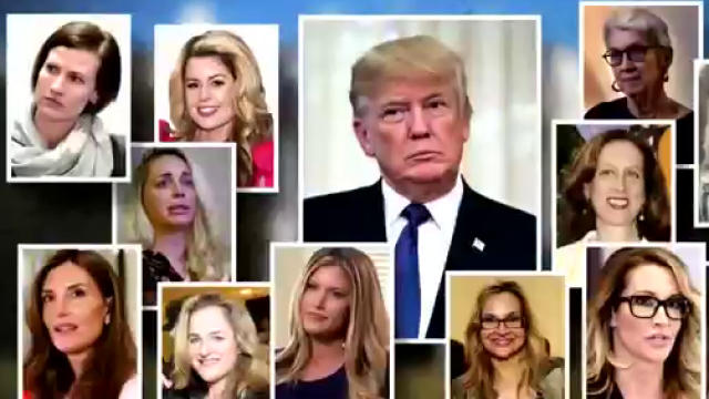 50% think sexual misconduct allegations against Trump are credible