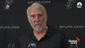 EXTENDED: San Antonio Spurs coach Gregg Popovich tears into Donald Trump