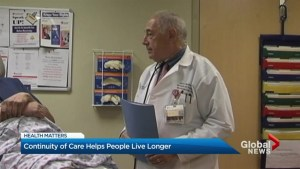 Continuity of care helps people live longer