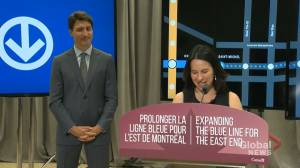 Ottawa announces funding for Montreal's blue line extension