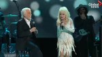 Dolly Parton helps sing off Kenny Rogers during farewell performance in Nashville