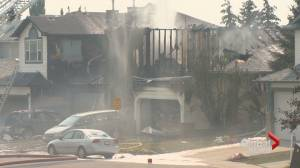 Calgary fire responds to major fire amid record-breaking temperatures