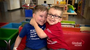 Ontario children with Cerebral Palsy find lifelong friendship amid access to life altering treatment