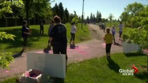 Colour Festival Fun Run funds Beads of Courage program in Saskatchewan