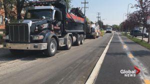 Beaconsfield repaving bad road work