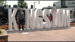 'I in Kingston' sign a huge hit