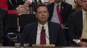 Comey calls Trump's request to drop Flynn investigation 'disturbing'