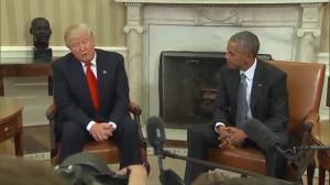 Donald Trump continues to bristle at notion Obama could have beaten him in a general election
