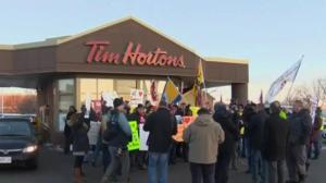 Protests planned outside several Tim Hortons locations