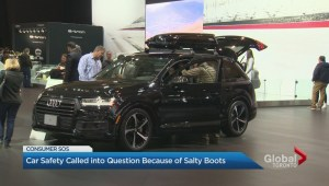 Car buyers say blaming kids' boots for auto fire is bunk