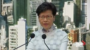 Hong Kong leader suspends extradition bill after widespread protests