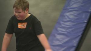 Focus Manitoba looks at Sky Zone's night for kids with sensory challenges