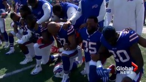 NFL players protest police brutality, racial inequality, Trump ahead of games