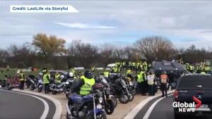 'Yellow vest' blockade at at toll booth at French-Spain border