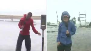 Tumultuous week on Earth: the differences between Mangkhut and Florence (02:31)
