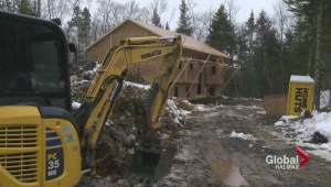 Halifax home construction down due to snow