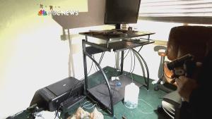 Media tours apartment of San Bernardino shooting suspects
