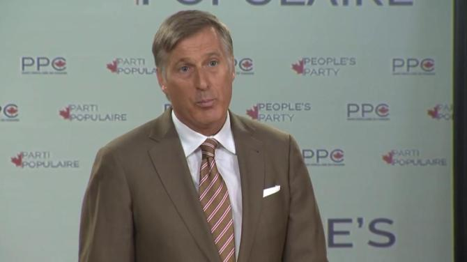 Maxime Bernier says even the NDP might want to join his new People's Party