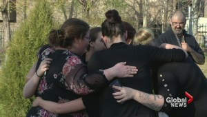 Vigil held for murdered mother and daughter
