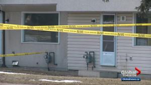 Man found dead during Edmonton townhouse fire