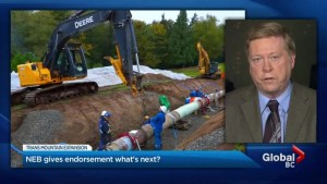 B.C. government reacts to Trans Mountain pipeline approval